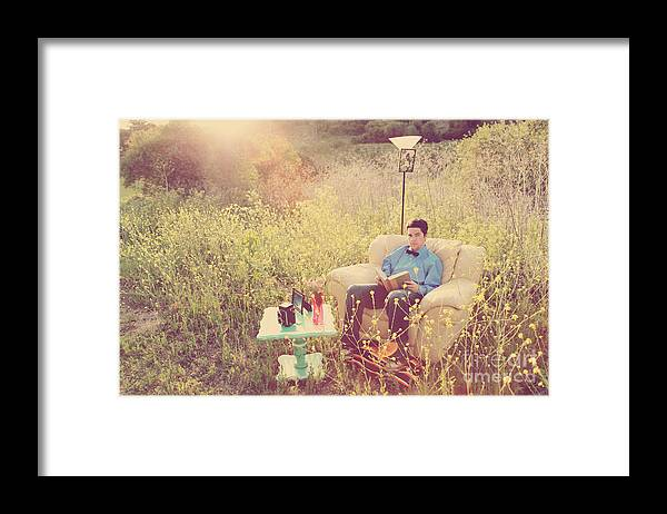 Meadow Framed Print featuring the photograph The Beggar's Son by Jacquie Waldman