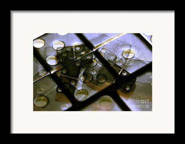 Dominoes Framed Print featuring the photograph The Bone Pile by Judi Bagwell