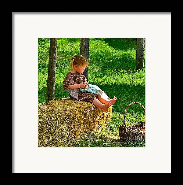 Calico Framed Print featuring the photograph The Calico Princess by Julie Dant
