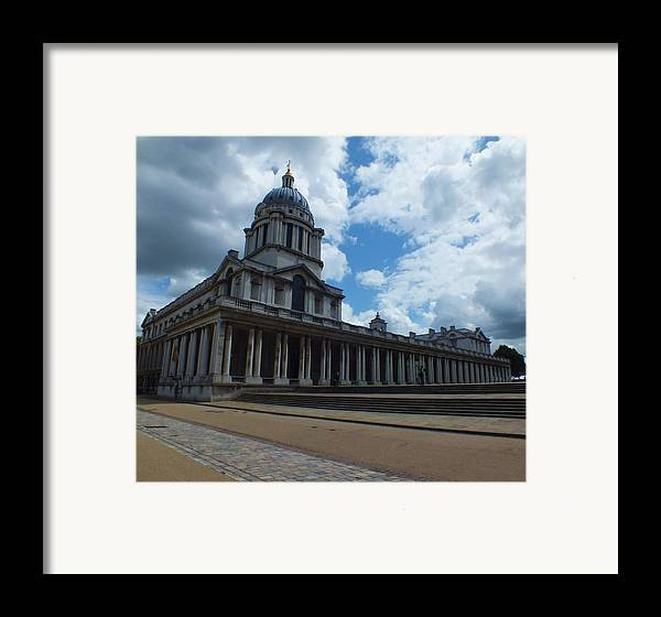 Lord Admiral Nelson Framed Print featuring the photograph The Chapel At The Royal Naval College by Anna Villarreal Garbis
