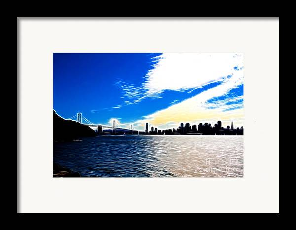 San Francisco Framed Print featuring the photograph The City By The Bay by Wingsdomain Art and Photography