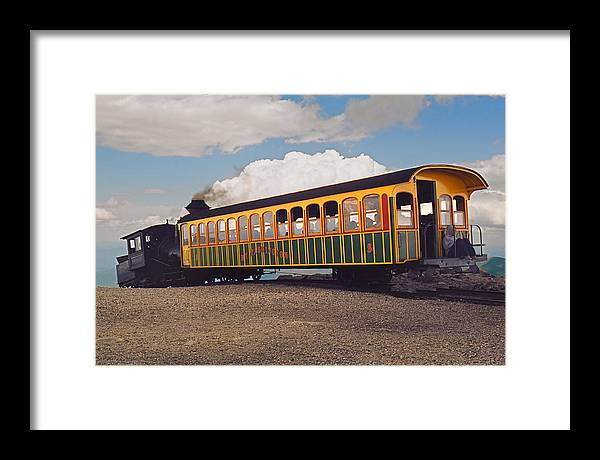 Train Framed Print featuring the photograph The Cog by Joann Vitali