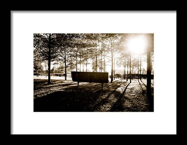 Jezcself Framed Print featuring the photograph The Day Closes by Jez C Self
