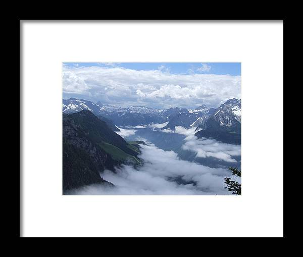 Landscape Framed Print featuring the photograph The Eagles Nest by Wendy Hope