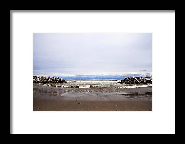 Www.cjschmit.com Framed Print featuring the photograph The Edge Of Mother Nature by CJ Schmit