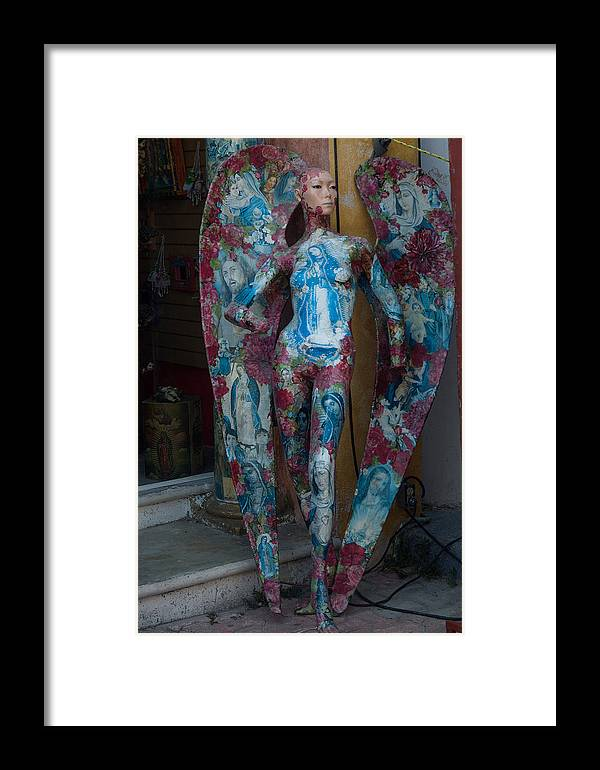 Mexico Framed Print featuring the photograph The Elaborate Angel by Barry Doherty