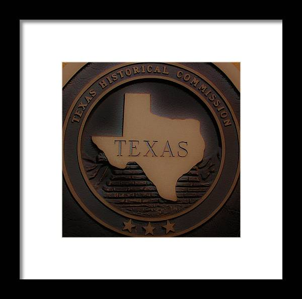 Framed Print featuring the photograph The Eyes Of Texas Are Upon You by Barbara Langdon