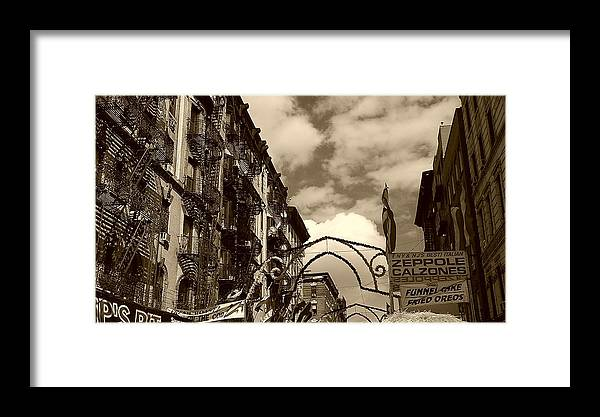 San Gennaro Framed Print featuring the photograph The Feast by Catie Canetti