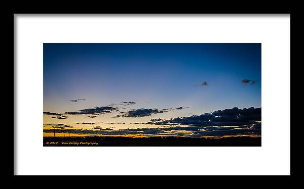 Landscape Framed Print featuring the photograph The Fleeting Moments by Dan Crosby