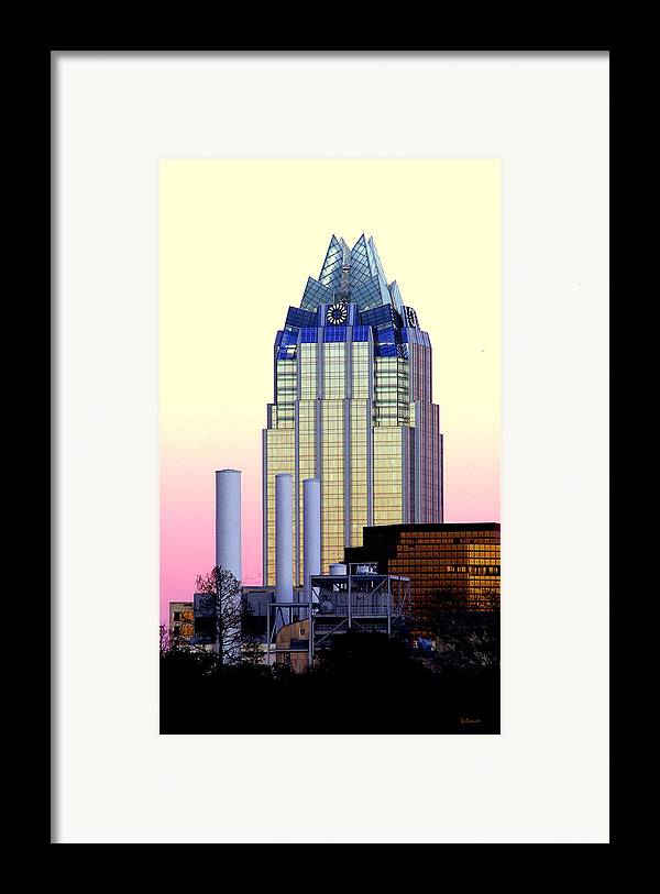 Frost Tower Framed Print featuring the photograph The Frost Tower by Lisa Spencer