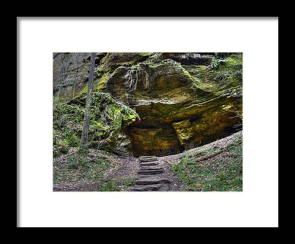 Framed Print featuring the photograph The Grotto by Brian Stevens