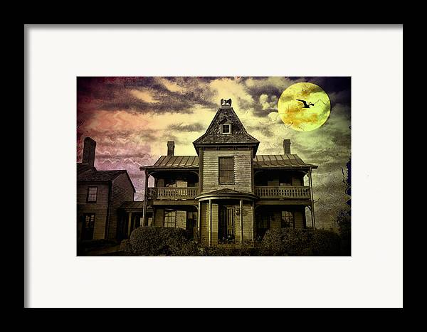 Haunted Framed Print featuring the photograph The Haunted Mansion by Bill Cannon