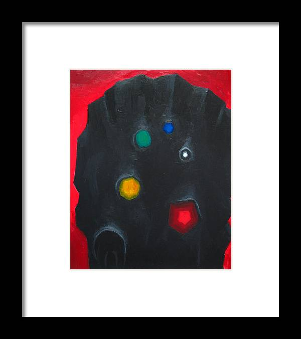 Abstract Head Framed Print featuring the painting The Head Of The Grand Inquisitor by Kazuya Akimoto