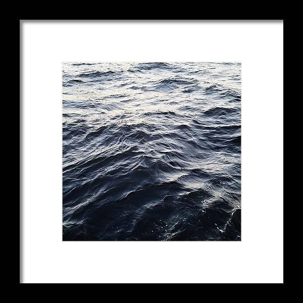 Summer Framed Print featuring the photograph The Hudson by Randy Lemoine