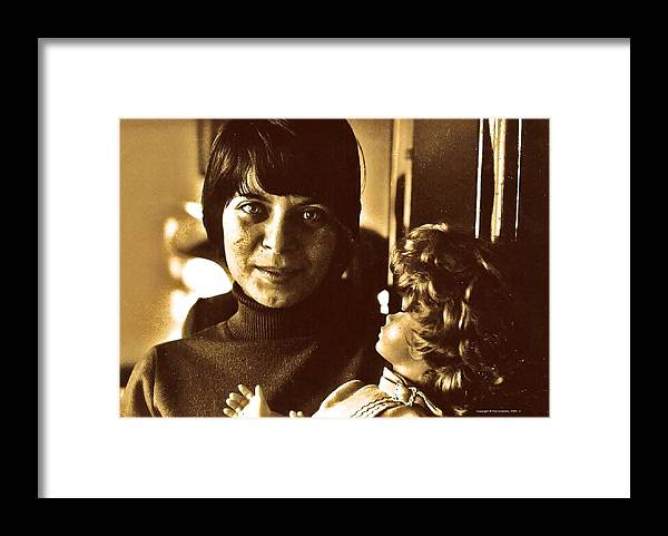 Portraits Framed Print featuring the photograph The Last Doll by ITI Ion Vincent Danu