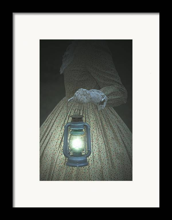 Female Framed Print featuring the photograph The Light by Joana Kruse