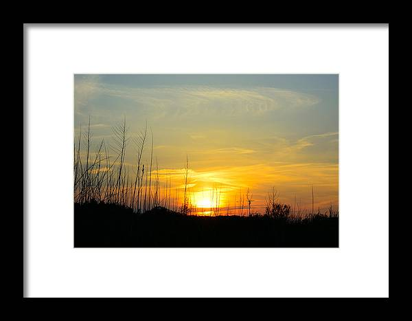 Sunset Framed Print featuring the photograph The Light by Lawrence Li