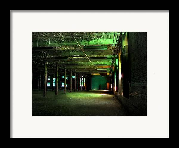Gastonia Framed Print featuring the photograph The Loray Firestone Mill by Tammy Cantrell