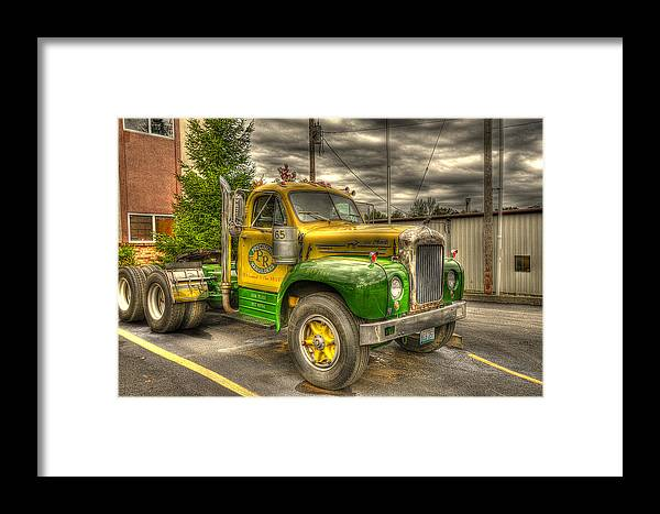 The Mack Framed Print featuring the photograph The Mack by William Fields