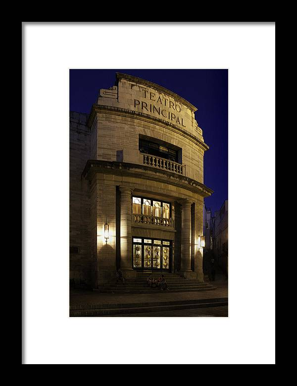Theater Framed Print featuring the photograph The Meeting Place by Lynn Palmer