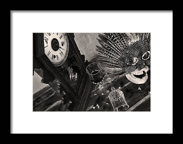 Art Framed Print featuring the photograph The Morning After by Tammy McKinley