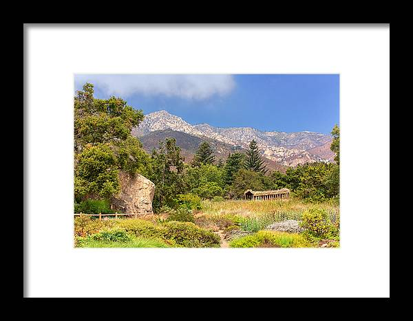Beautiful Framed Print featuring the photograph The Mountains Above by Ken Wolter