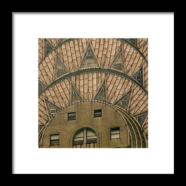 Ilovenyc Framed Print featuring the photograph The One And Only Chrysler Bldg. - New by Joel Lopez