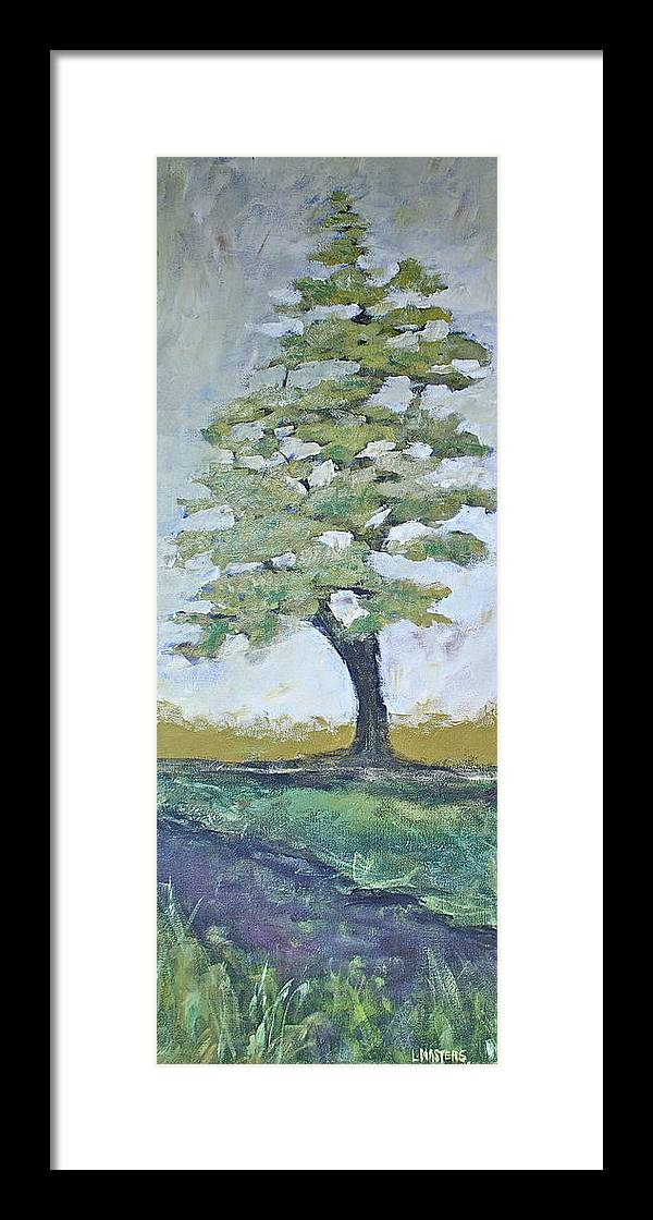 White Pine Framed Print featuring the painting The One by Lisa Masters