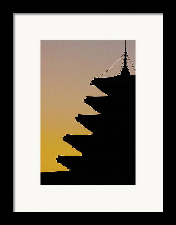 Vertical Framed Print featuring the photograph The Pagoda At Gyeongbukgong In Seoul by Photography by Simon Bond