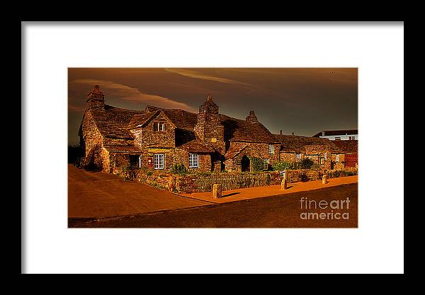 Tintagel Framed Print featuring the photograph The Post Office by Nigel Hatton