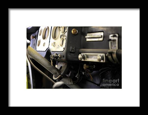 Car Framed Print featuring the photograph The Project... by Nancy Greenland