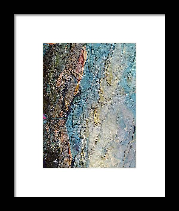 Painting Framed Print featuring the digital art The Pull Of Reality by Michele Caporaso