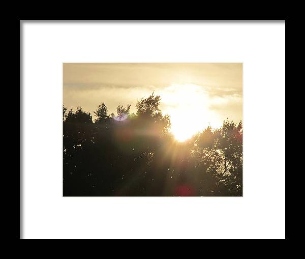 Sunsets Framed Print featuring the photograph The Rays Of Light by Tim Campbell