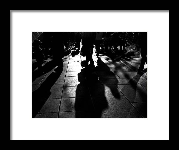 Framed Print featuring the photograph The Shadow by Jeff Chang