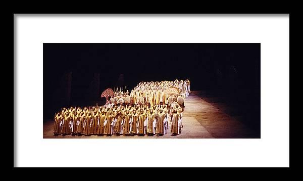 Verdi Framed Print featuring the photograph Dramatic Aida by Shaun Higson