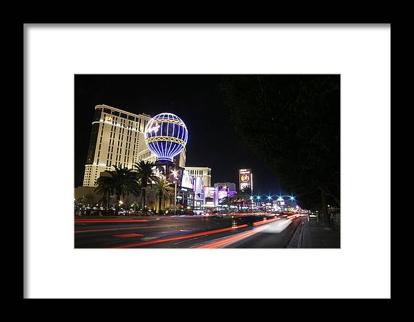 Strip Framed Print featuring the photograph The Strip by Tania Kelvin