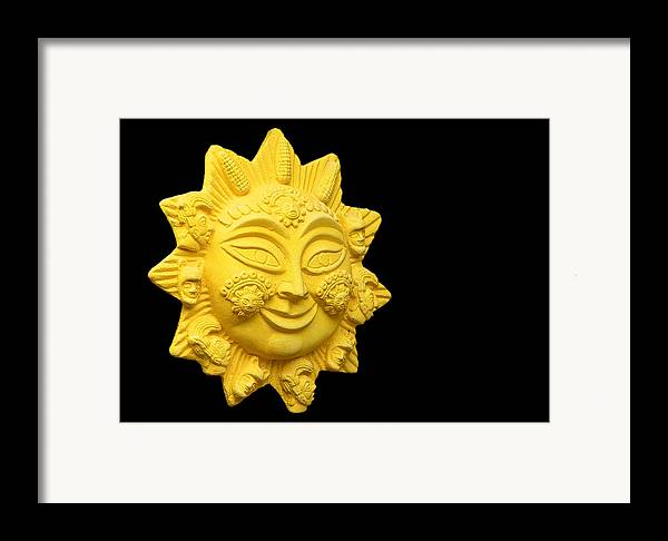 Suns Framed Print featuring the photograph The Time Of No-time by Christine Till