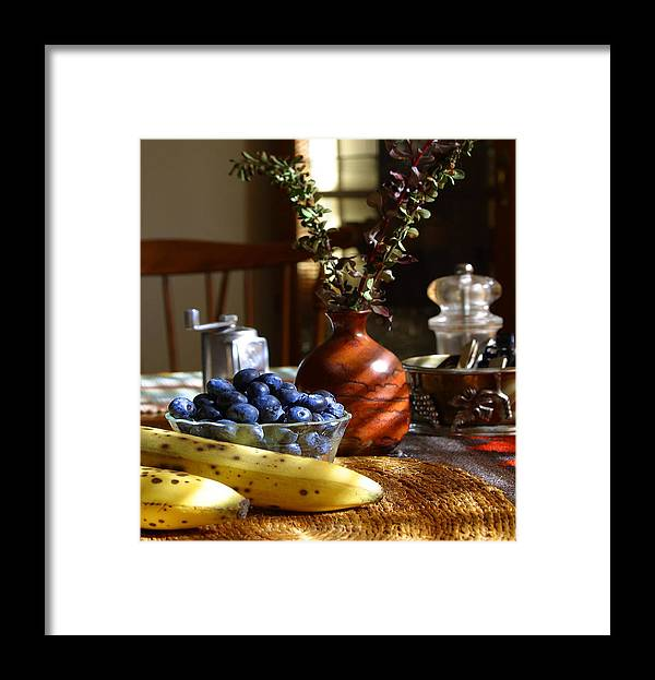 Bananas Framed Print featuring the photograph The Vase by Davor Sintic