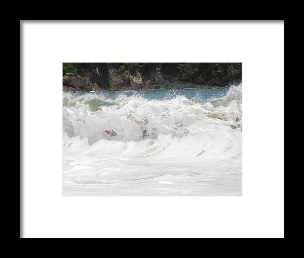 Wave Framed Print featuring the photograph The Wave by Kimberly Perry