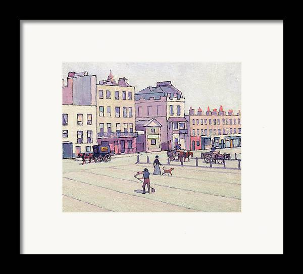 Xyc153929 Framed Print featuring the photograph The Weigh House - Cumberland Market by Robert Polhill Bevan