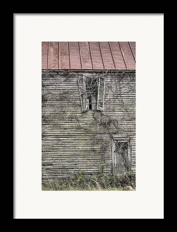 The Window Up Above Framed Print featuring the photograph The Window Up Above by JC Findley