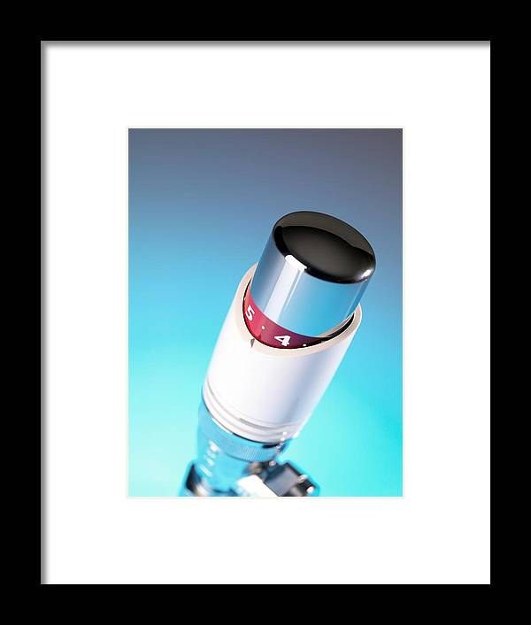 Equipment Framed Print featuring the photograph Thermostatic Radiator Valve by Tek Image