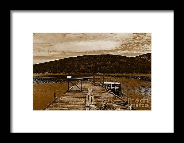 They Were Here Framed Print featuring the photograph They Were Here by Barbara Griffin