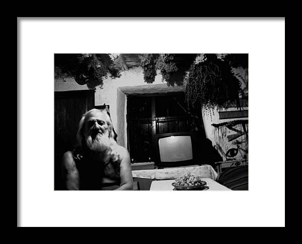 Face Framed Print featuring the photograph Thirtythree by Kristijan Krsteski