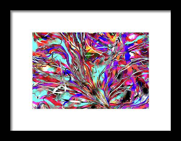 Karen Elzinga Framed Print featuring the painting Through Time by Karen Elzinga