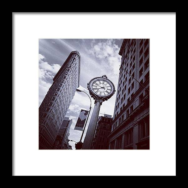 Summer Framed Print featuring the photograph Tick Tock by Randy Lemoine
