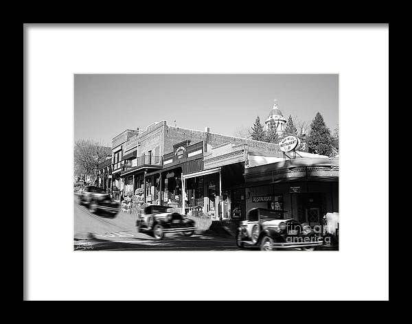 Auburn Framed Print featuring the photograph Timeless Auburn by Diego Re
