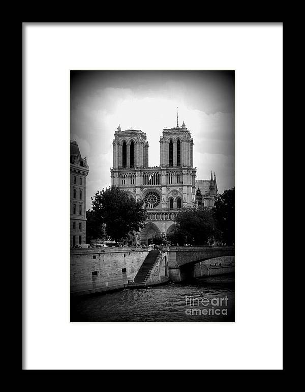 Notre Dame Framed Print featuring the photograph Timeless Notre Dame by Carol Groenen