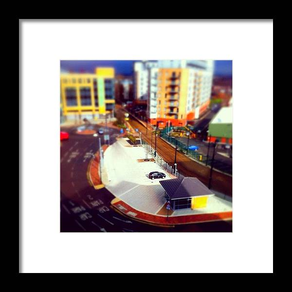 Framed Print featuring the photograph Tiny Salford by Jamie Emanuel