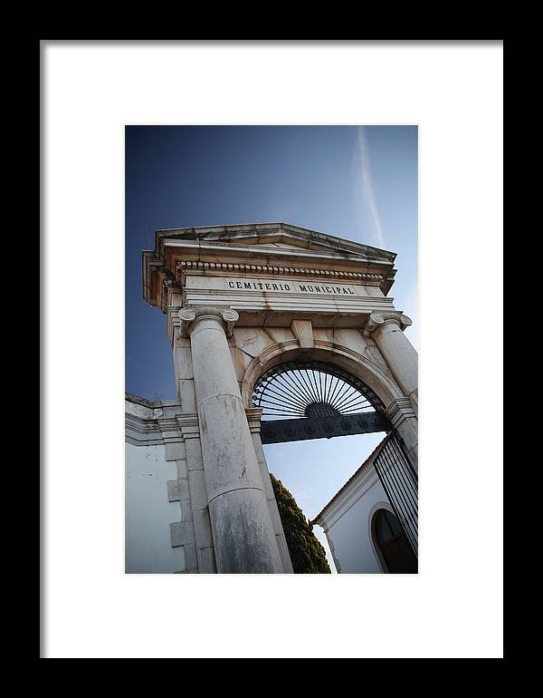 Jezcself Framed Print featuring the photograph To Your Next Life by Jez C Self